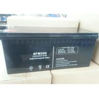 Quality 6FM200 VRLA Valve Regulated Lead Acid Battery 12v 200ah Solar Power Storage Batteries for sale