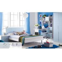 Buy cheap Light Blue Childrens Bedroom Furniture Sets , Mattress Size 1200 * 1900 mm from wholesalers
