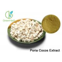 Buy cheap Brown Powder Natural Plant Extracts Poria Cocos Extract Treating Insomnia from Wholesalers
