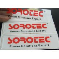 Buy cheap Self - Adhesive Polyurethane Domed Labels / PU Logo Resin Domed Labels from wholesalers