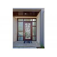 Buy cheap Sidelight Glass Panels , Architectural Decorative Door Glass Panels  Glass Cabinet from wholesalers
