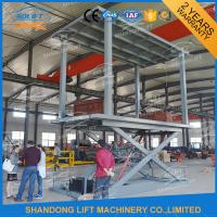 Buy cheap Hydraulic Mobile Electric Car Lift For Garage from wholesalers