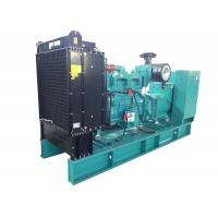 500kw Diesel Generator Set With Atomatic Alarm System / Insulation Class H