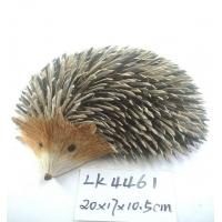 Buy cheap Handicraft hedgehog,easter day decoration & gifts,Bark and grass handmade,easter ornament,garden decoration from Wholesalers
