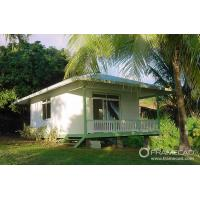 Buy cheap One Bedroom Steel Beach Bungalow , Small Prefab House Kits from Wholesalers