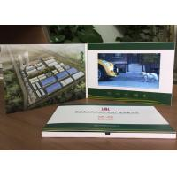 Quality 2017 Advertisement and promotion Use  video book brochure paper material 7inch screen video brochure card in print wholesale