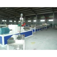 Buy cheap Plastic Profile Production Line , High Speed Double Screw Extruder from Wholesalers