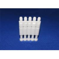 Buy cheap Threaded Aluminium Oxide Ceramic Shaft With Flat Position Stepped Chamfer from Wholesalers