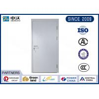 Buy cheap Durable Gray 1 Hour Fire Rated Door , 25MM Fire Seals Fire Rated Steel Door from Wholesalers