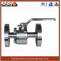 Buy cheap A182 F316 Stainless Steel Hard Seal Floating Ball Valve- Ball Valve-Valve-ASG from Wholesalers