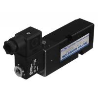 Black Pneumatic Solenoid Valve 24vdc Short Lead Time With Plate Type