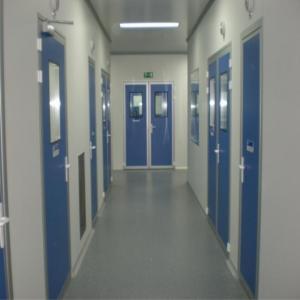 Weighing Booth Aseptic Clean Room, Prefabricated Clean RoomAir Speed Adjustable
