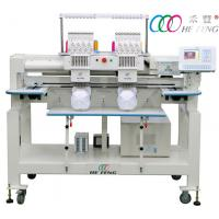 Quality Double Head 9 Needle Compact Embroidery Machine , Commercial Embroidery Equipment for sale