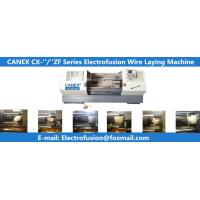 China horizental cnc automatic polyethylene fittings wire laying machine canex wire laying machine for electrofusion on sale