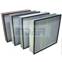 Buy cheap GMP Clean Room Deep Pleated HEPA Filter Compact Construction With CE from wholesalers