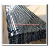 Buy cheap Full Hard 550MPa G550 Corrugated Sinusoidal Profile Thin Steel Roofing Sheet Material, 0.15mm, 0.18mm, 0.20mm from wholesalers
