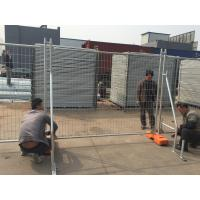 Buy cheap Economist Temporary Fence -14 microns per-galvanized 2100mm x 2400mm height AS4687-2007 from Wholesalers