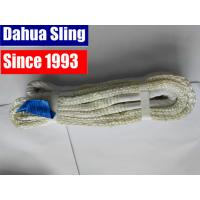 2500 kgs Color Code Flat Lifting Slings Crane Equipment WSTDA Standard