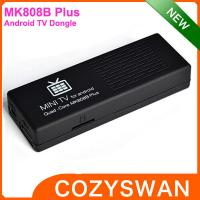 Buy cheap MK808B Plus Amlogic android mini pc media player quad core 1+8GB from wholesalers