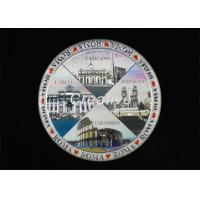 Buy cheap 3M Adhesive Foil Stamp And Embossed Labels Epoxy Coated Domed Stickers from wholesalers
