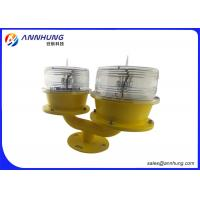 Quality Low - Intensity Solar Obstruction Light / 3W Double Aircraft Warning Light wholesale