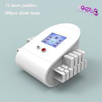 Buy cheap Women Body Contouring lipo laser fat reduction machine 208 Effective Mitsubishi diodes from Wholesalers