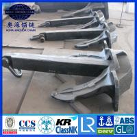 Hall Stokless Anchor, Black Painted stockles A / B / C type Hall Anchor with KR LR BV NK DNV ABS CCS cert.