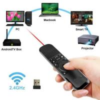 Quality Silver Wireless Air Mouse Presenter , PPT Remote Clicker For Multi Media wholesale