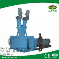 Automatic Fertilizer Double Roller Extrusion Granulating Machine