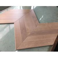 Oak wood parquet flooring/Chervon Style Flooring