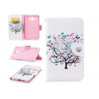 Buy cheap Colorful Tree Pu Leather Phone Case Mixed Color With Multi Function For Huawei from Wholesalers