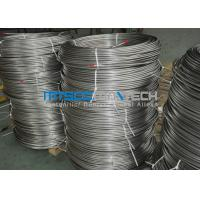 Buy cheap Cold Drawn Stainless Steel Seamless Coiled Tubing 9.53mm x 0.89mm from Wholesalers