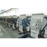 Buy cheap 12 Heads Industrial Double Sequin Embroidery Machine With Servo Motor from Wholesalers