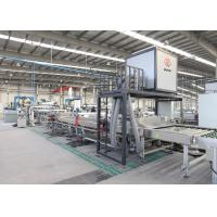 China Car Side Windshield Glass Processing Equipment 1300 mm Omron PLC Touch Screen on sale