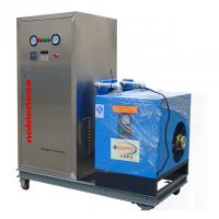 Buy cheap Food Grade Customer Made mini Nitrogen Generator with Wheels Cabon Steel  Capacity 2Nm3/h Purity 99.99% from wholesalers
