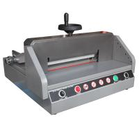 Buy cheap 330mm Semi Electric Paper Cutter Machine E330D , Paper Cutting Equipment from Wholesalers