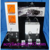 Buy cheap Table top acrylic watch display stand for advertising in watch store from Wholesalers