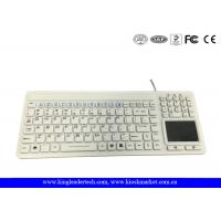 Buy cheap Unfoldable IP68 Waterproof Silicone Keyboard with Mouse Touchpad and Full Keys from Wholesalers