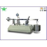 Buy cheap ISO 9863-1 Textile Testing Equipment / Geotextile Thickness Tester For Laboratory from wholesalers