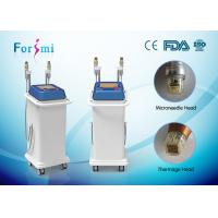 Buy cheap gradual improvement in appearance microneedle fractional radiofrequency thermage skin tightening machine from Wholesalers