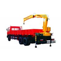 Durable 4 Ton Knuckle Arm Articulated Boom Crane , Driven By Hydraulic