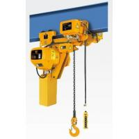 Buy cheap 15 ton / 20 ton / 25 ton Low Headroom Electric Chain Hoist With Travelling Trolley from Wholesalers