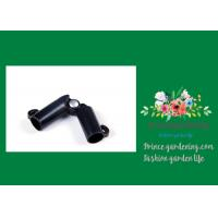 Sturdy Plastic Garden Stake Connectors Black Color Adjustable Angle 0 - 170 Degrees