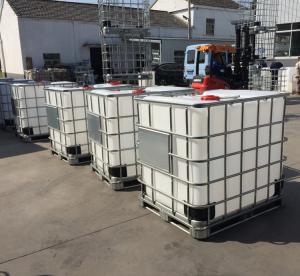 Quality 1000L HDPE IBC tank rotational mould IBC tank fittings for sale