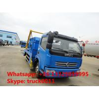 China Dongfeng 4x2 6cbm hydraulic arm roll garbage truck for sale on sale