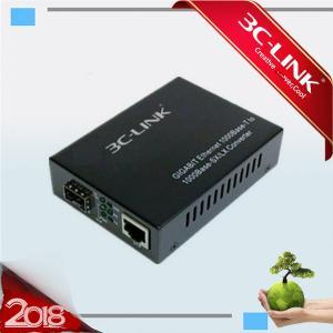 Buy cheap Single Fiber Optic Media Converter All 1.25G SFP Transceiver 10 / 100 / 1000 Base Ethernet from wholesalers