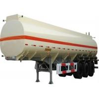 Buy cheap good quality 3 axle stainless steel 50cbm oil transportation tank semi trailer for sale from Wholesalers