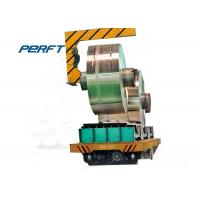 China Electric Cable Drum Coil Transporters-A Industrial Rail Transfer Carts on sale