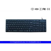 Quality Desk Top Waterproof Silicone Keyboard F1 - F12 Function Keys and Numeric Keys wholesale