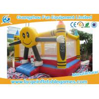 China Attractive Small Spongebob Inflatable Bouncer Jumper For Rent / Home / Backyard on sale